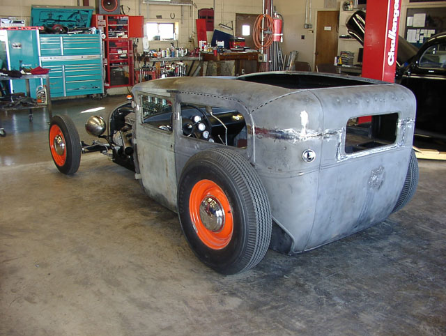 1930 model a rat rod carls custom cars. Black Bedroom Furniture Sets. Home Design Ideas